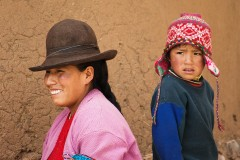 People from Cusco (Pisac) . (2009)