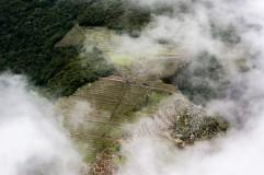 View of Machu Pichu from Wayna Picchu