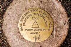Machu Picchu Geodesic point