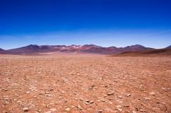 Stones desert in Bolivian Altiplano