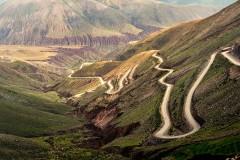 Quebrada de Humahuaca road