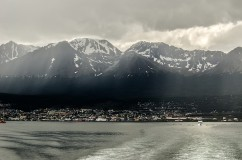 Ushuaia from the sea